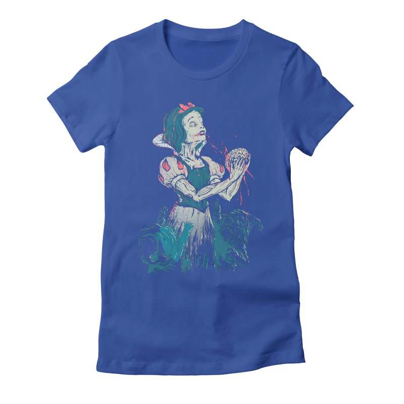 Z White Women's Fitted T-Shirt by tolagunestro's Artist Shop
