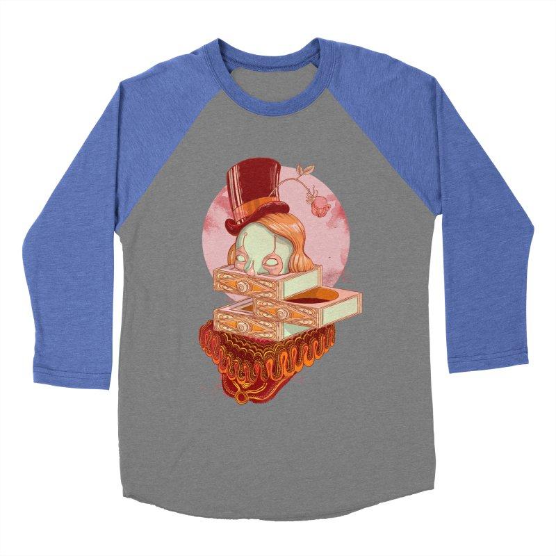 Faux Fond Women's Baseball Triblend T-Shirt by tolagunestro's Artist Shop