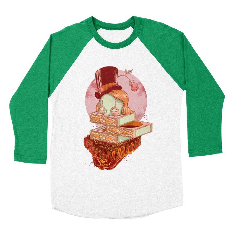 Faux Fond Men's Baseball Triblend T-Shirt by tolagunestro's Artist Shop