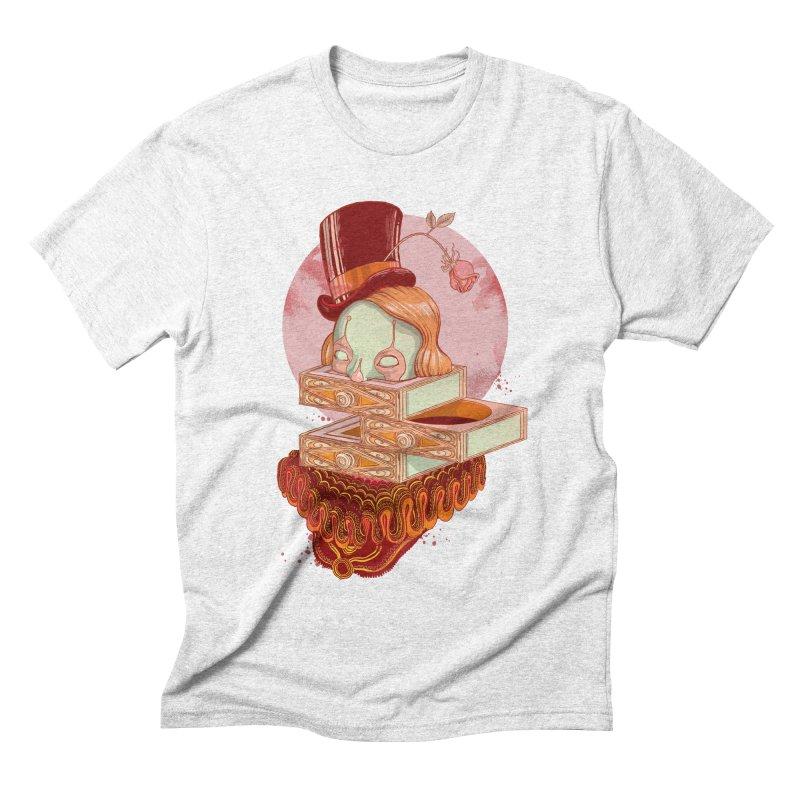 Faux Fond Men's Triblend T-shirt by tolagunestro's Artist Shop