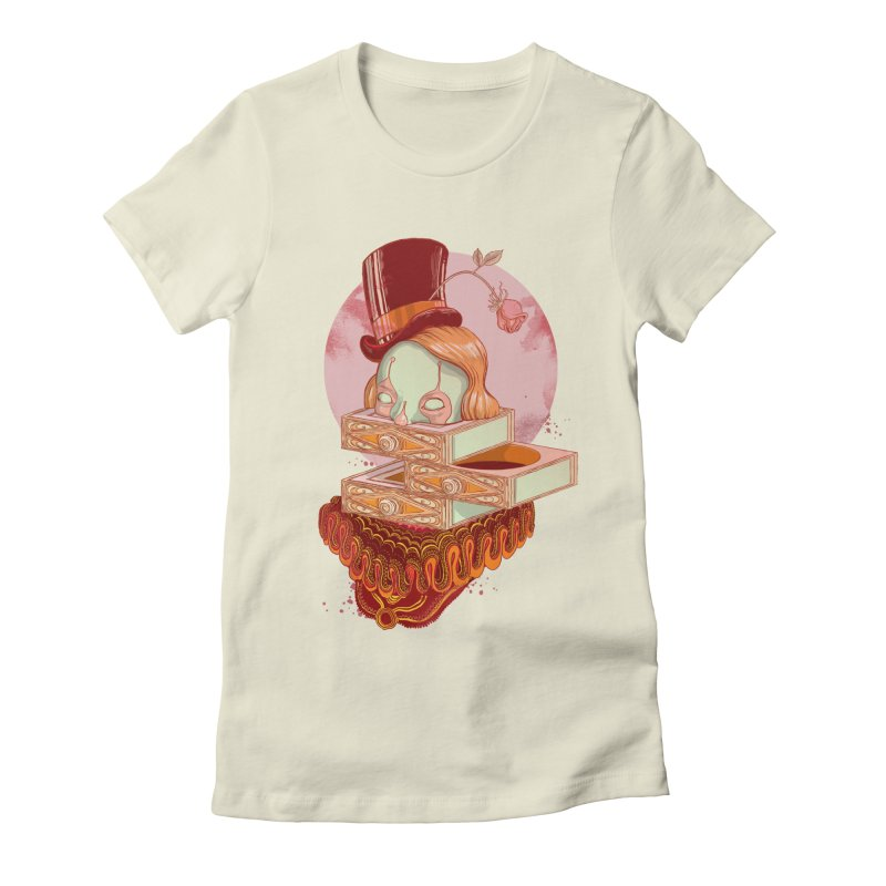 Faux Fond Women's Fitted T-Shirt by tolagunestro's Artist Shop