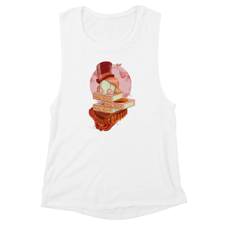 Faux Fond Women's Muscle Tank by tolagunestro's Artist Shop