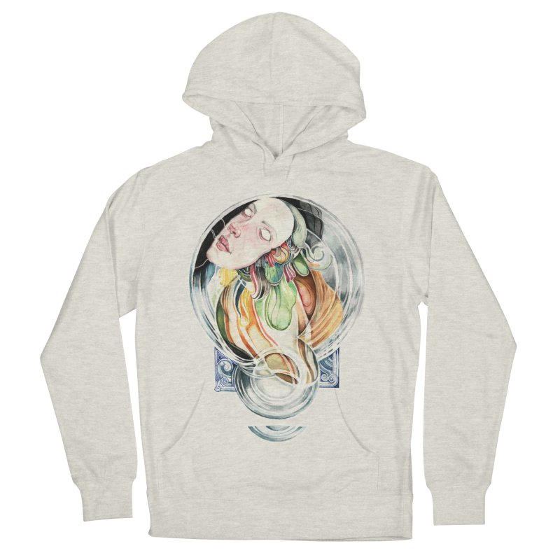 The Hourglass Men's French Terry Pullover Hoody by tolagunestro's Artist Shop