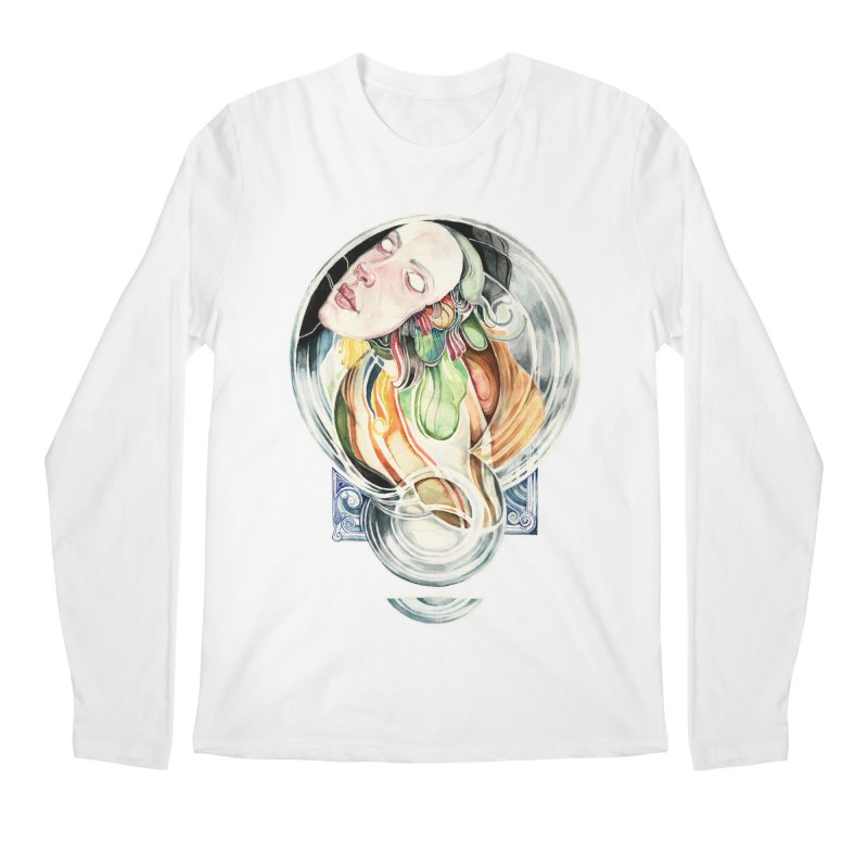 The Hourglass Men's Longsleeve T-Shirt by tolagunestro's Artist Shop