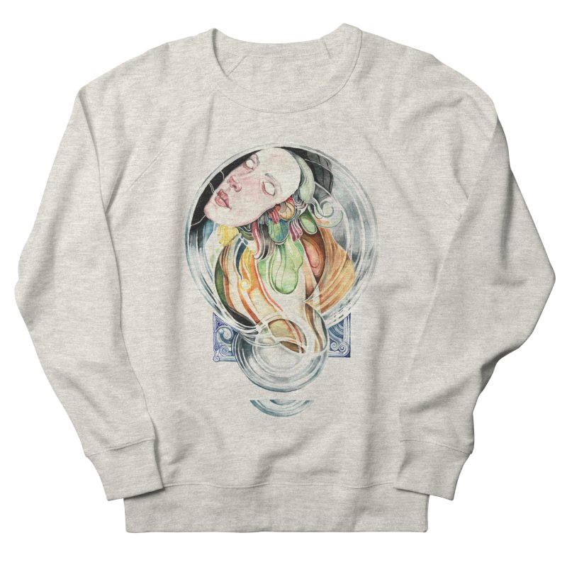 The Hourglass Women's French Terry Sweatshirt by tolagunestro's Artist Shop
