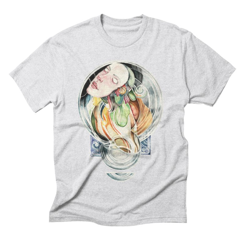 The Hourglass Men's Triblend T-shirt by tolagunestro's Artist Shop