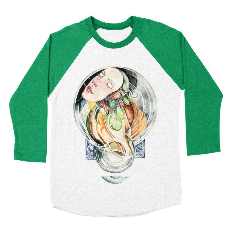The Hourglass Women's Baseball Triblend T-Shirt by tolagunestro's Artist Shop