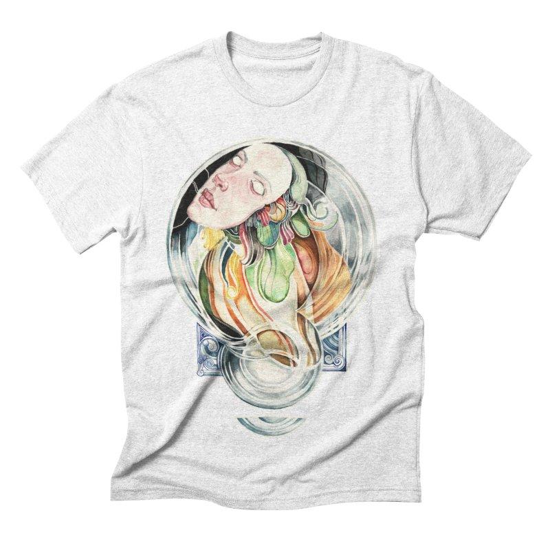 The Hourglass Men's Triblend T-shirt by tolagunestro's Artist Shop