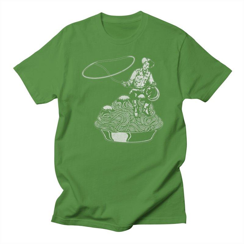 Spaghetti Western Men's T-shirt by Tom Burns