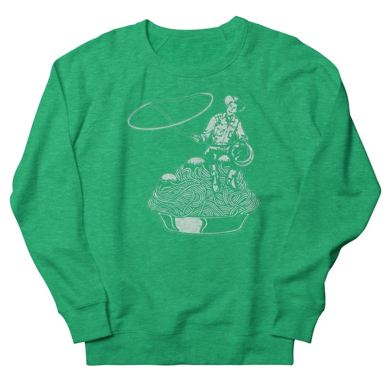 Spaghetti Western Men's Sweatshirt by Tom Burns