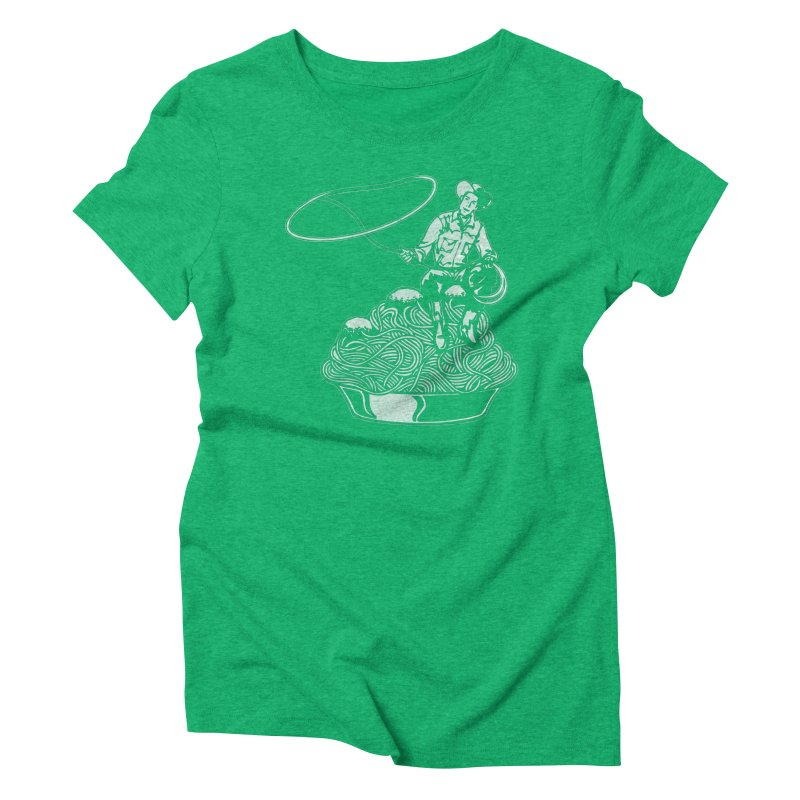 Spaghetti Western Women's Triblend T-shirt by Tom Burns