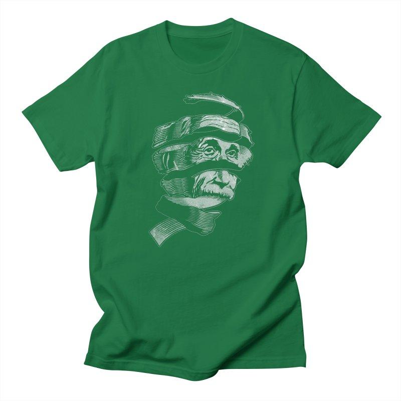 E=MC Escher Men's T-shirt by Tom Burns