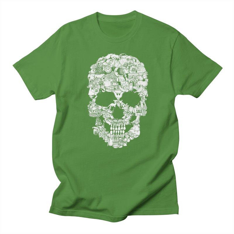 Clip Art Skull Men's T-shirt by Tom Burns