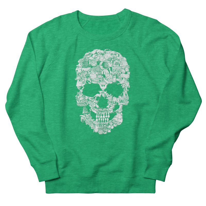 Clip Art Skull Men's Sweatshirt by Tom Burns