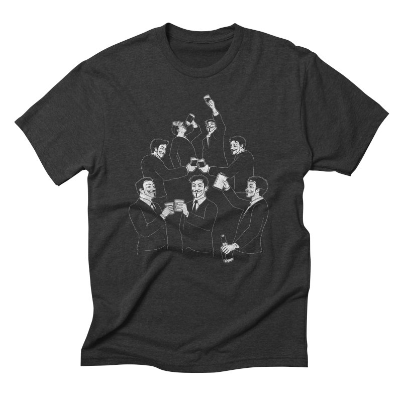 Anonymous Alcoholics Men's Triblend T-shirt by Tom Burns