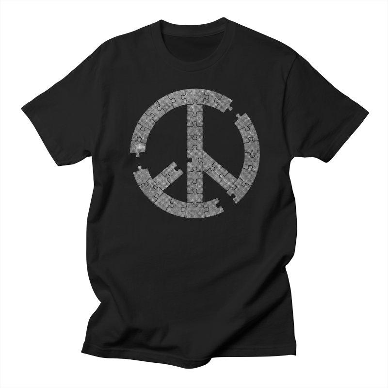Puzzle Piece Men's T-shirt by Tom Burns