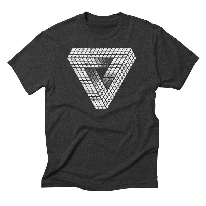 Penrose Puzzle Men's Triblend T-shirt by Tom Burns