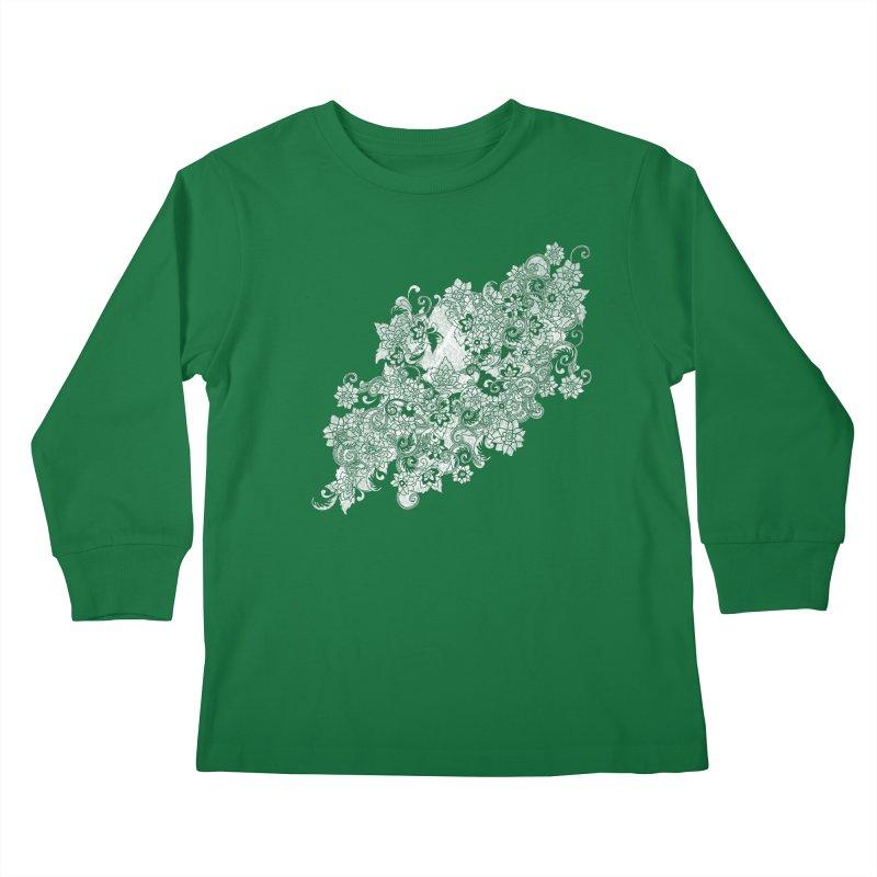 1975 Kids Longsleeve T-Shirt by Tom Burns