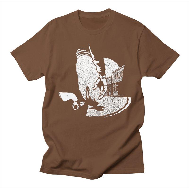 Showdown Men's T-shirt by Tom Burns