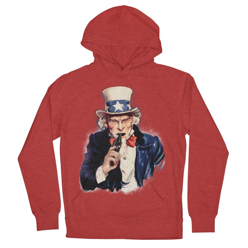 Uncle Sham Men's Pullover Hoody by Tom Burns