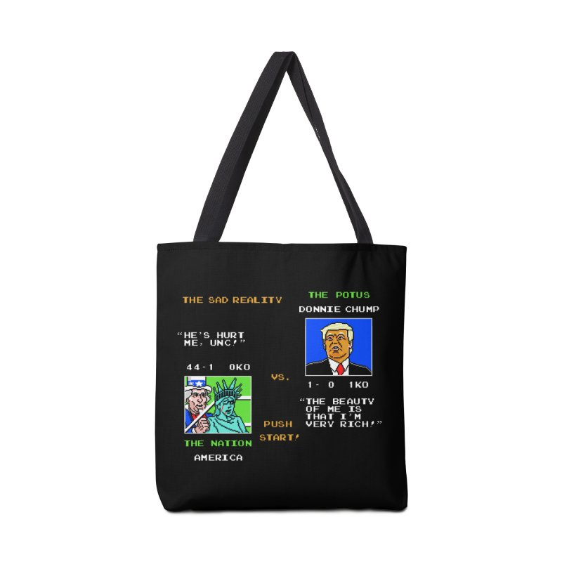 America Got Punched-Out Accessories Bag by Tom Burns