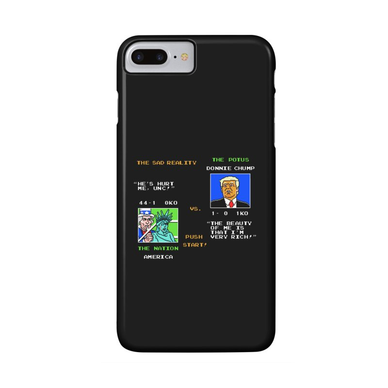 America Got Punched-Out Accessories Phone Case by Tom Burns