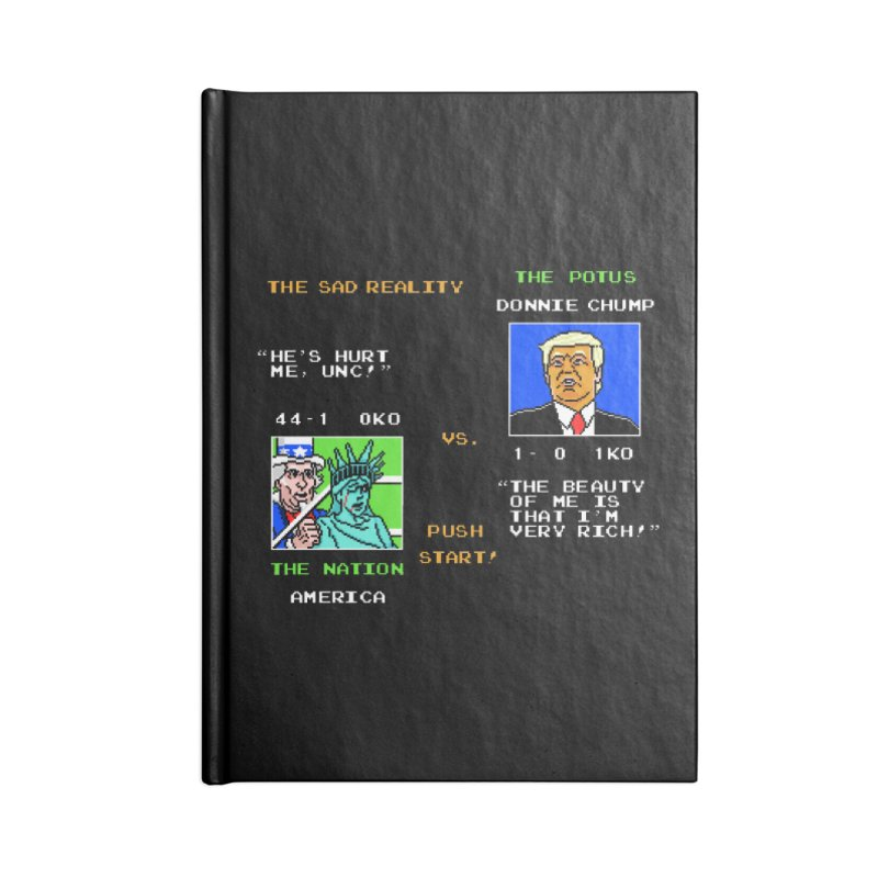 America Got Punched-Out Accessories Notebook by Tom Burns