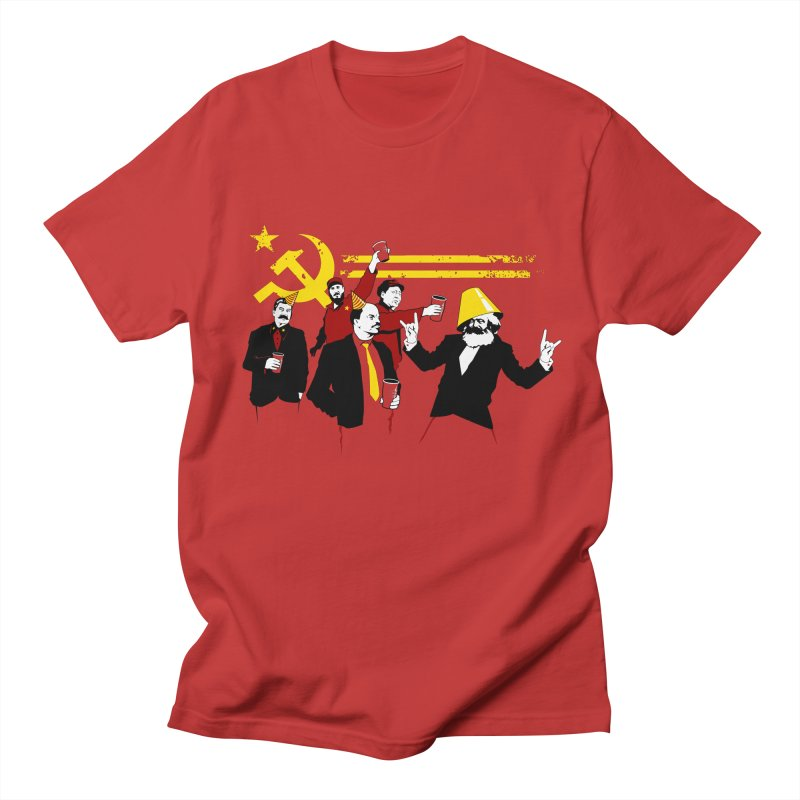 The Communist Party Men's T-Shirt by Tom Burns