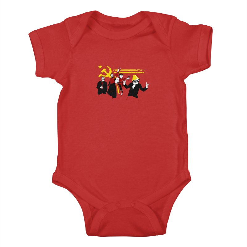 The Communist Party Kids Baby Bodysuit by Tom Burns