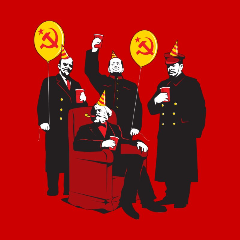 Communist Party 2 Accessories Notebook by Tom Burns