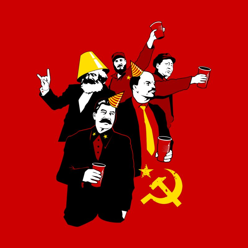 The Communist Party Variant Home Tapestry by Tom Burns