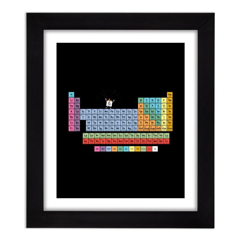 The Element of Surprise Home Framed Fine Art Print by Tom Burns