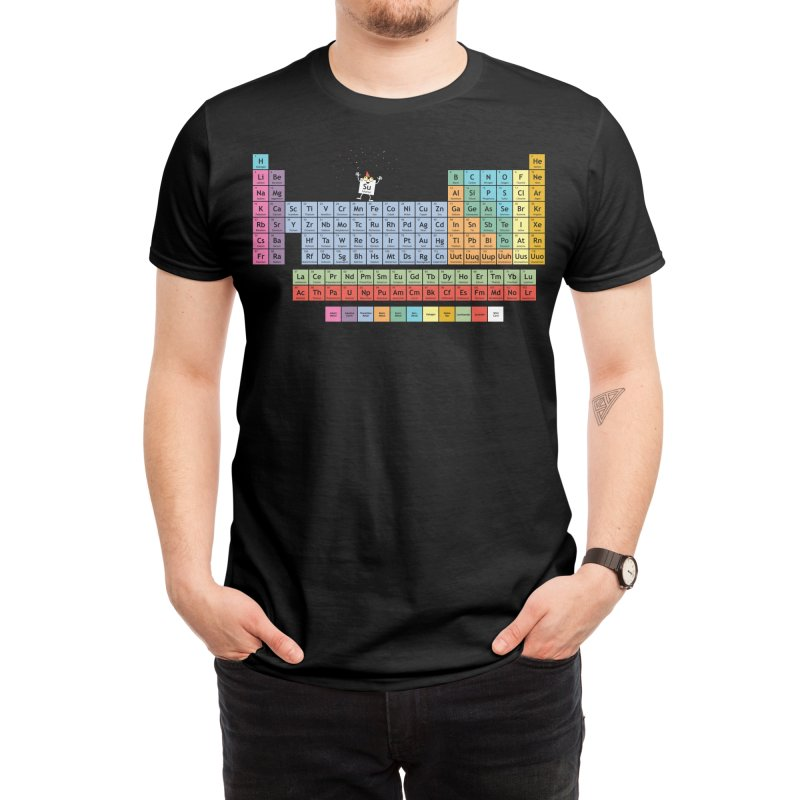 The Element of Surprise Men's T-Shirt by Tom Burns