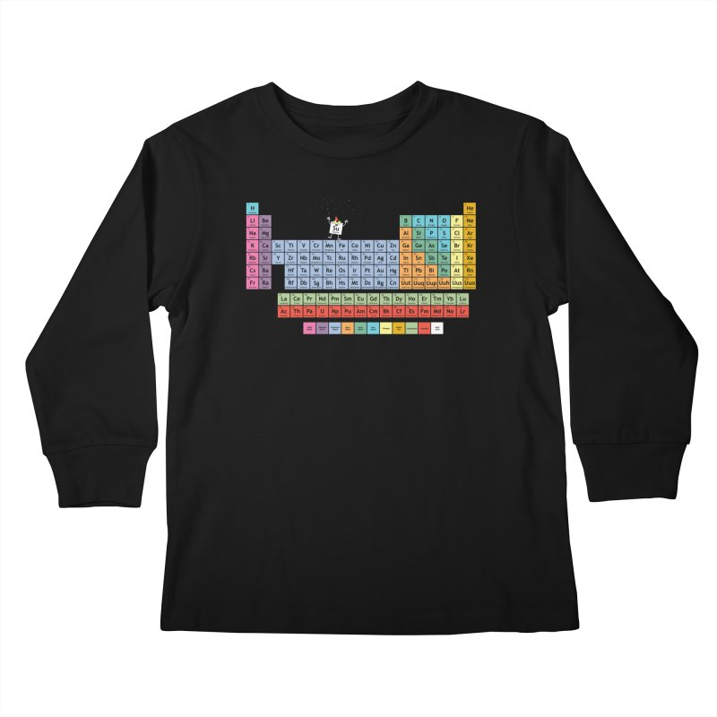 The Element of Surprise Kids Longsleeve T-Shirt by Tom Burns