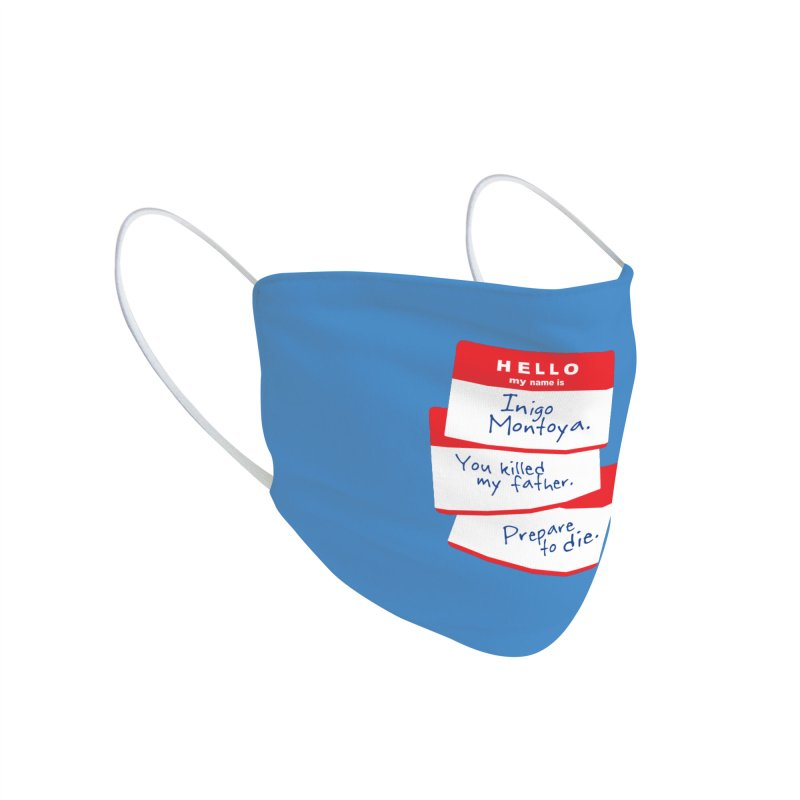 Hello Accessories Face Mask by Tom Burns