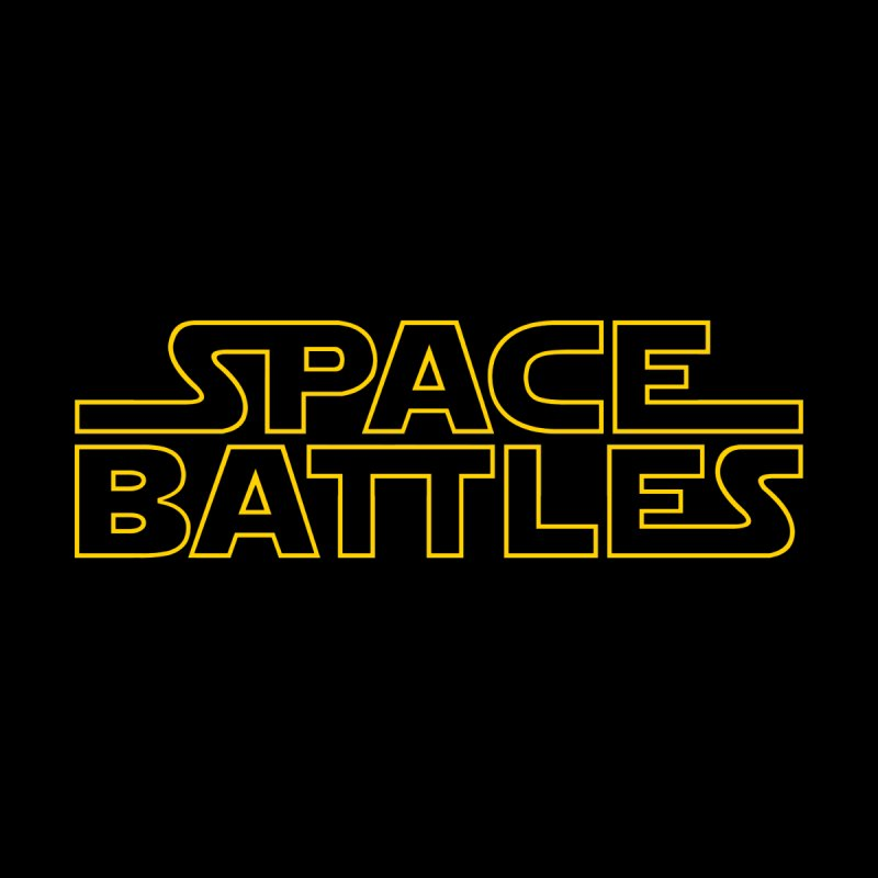 Space Battles Men's Baseball Triblend T-Shirt by Tom Burns