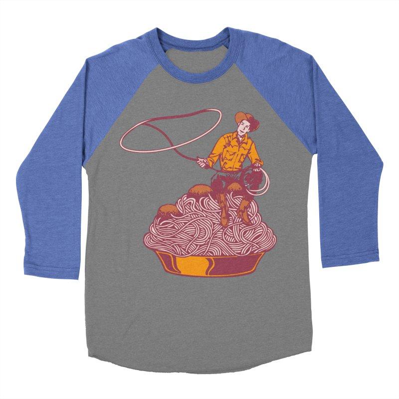 Spaghetti Western Women's Baseball Triblend T-Shirt by Tom Burns