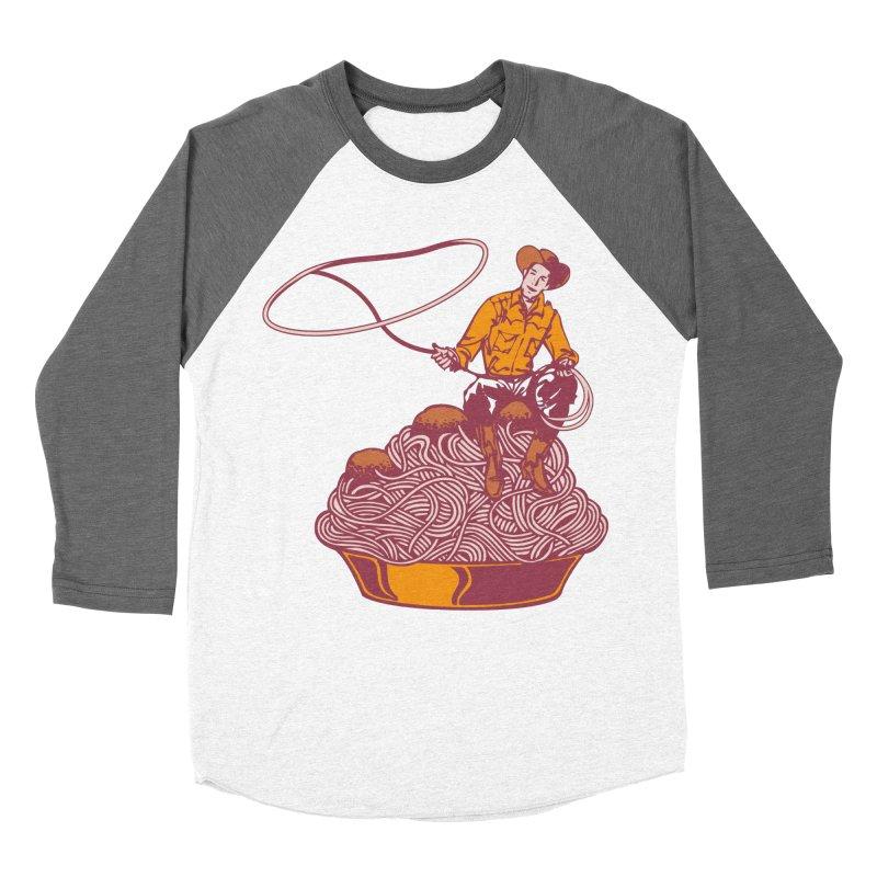 Spaghetti Western Men's Baseball Triblend T-Shirt by Tom Burns