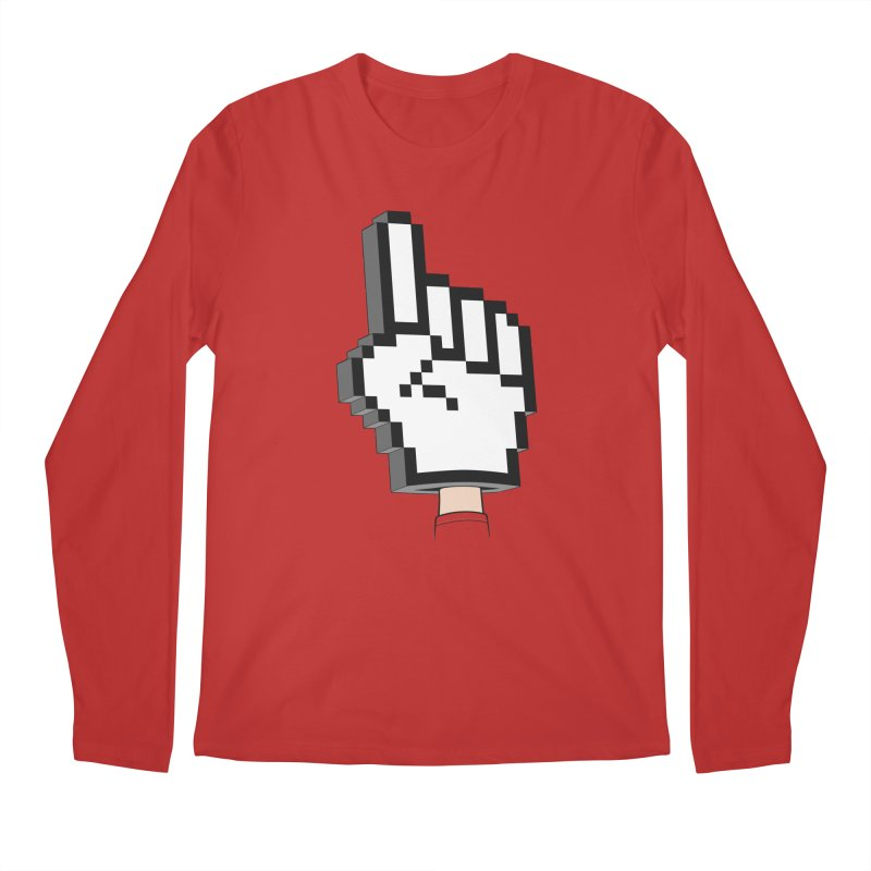 Team Internet Men's Longsleeve T-Shirt by Tom Burns