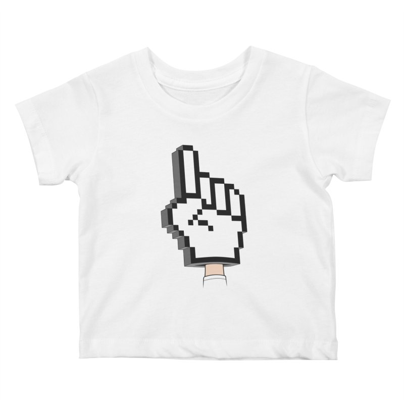 Team Internet Kids Baby T-Shirt by Tom Burns