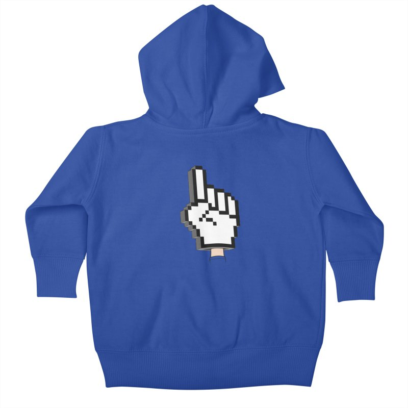 Team Internet Kids Baby Zip-Up Hoody by Tom Burns