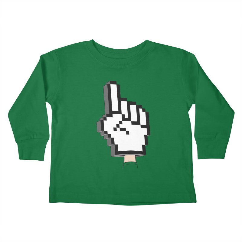 Team Internet Kids Toddler Longsleeve T-Shirt by Tom Burns