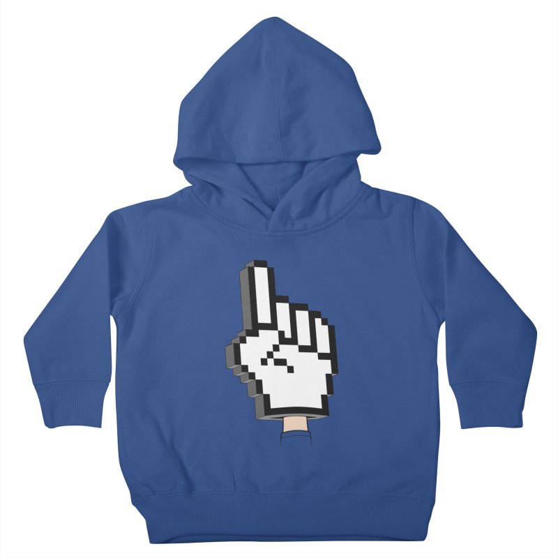 Team Internet Kids Toddler Pullover Hoody by Tom Burns