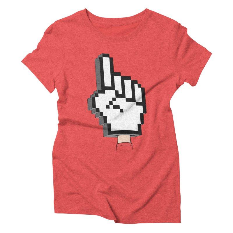 Team Internet Women's Triblend T-shirt by Tom Burns
