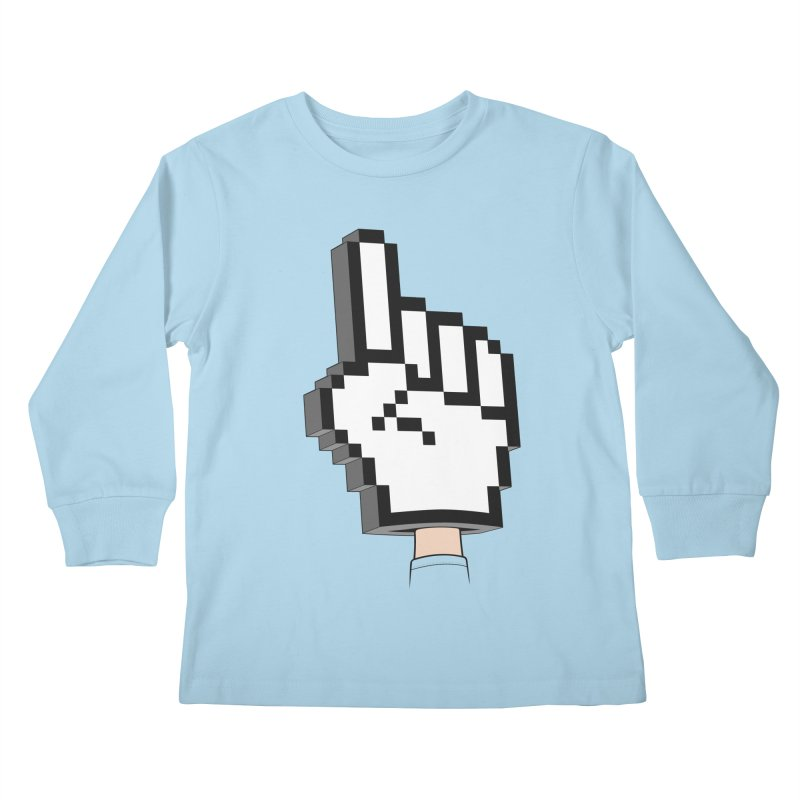 Team Internet Kids Longsleeve T-Shirt by Tom Burns