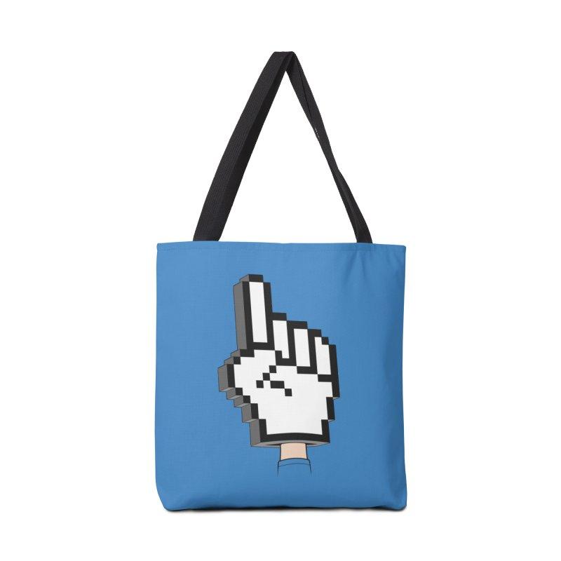 Team Internet Accessories Bag by Tom Burns