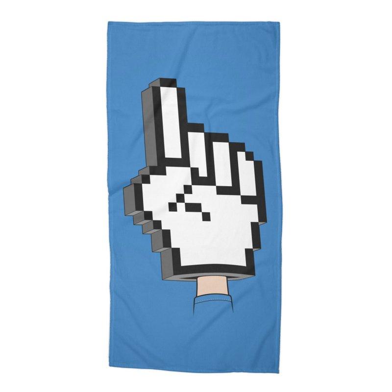 Team Internet Accessories Beach Towel by Tom Burns