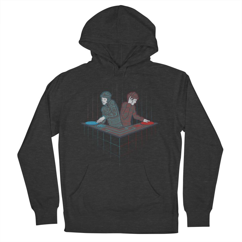 Techno-tron-ic Men's Pullover Hoody by Tom Burns