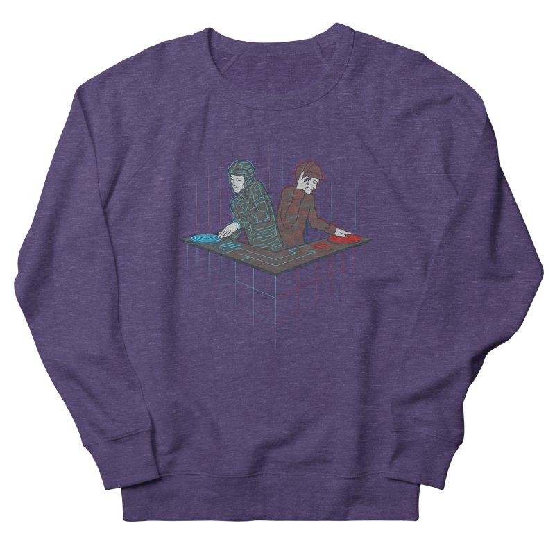 Techno-tron-ic Men's Sweatshirt by Tom Burns