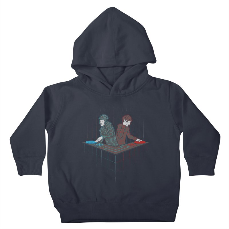 Techno-tron-ic Kids Toddler Pullover Hoody by Tom Burns
